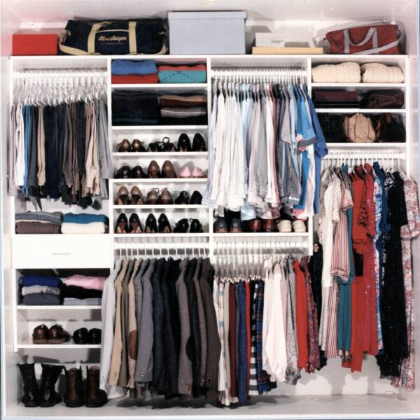 Charming After Closet Works Organized This Closet